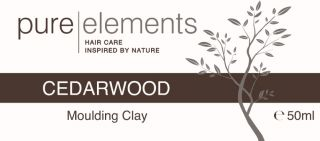 Pure Elements  ( White Pot ) Cedarwood Moulding Clay 50ml  £15.75 image