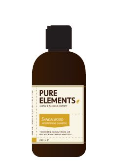 Pure Elements Sandalwood Moisturising Shampoo 250ml  £17.25 image