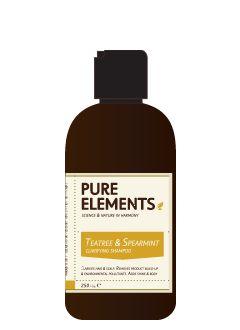 Pure Elements Tea Tree and Spearmint Clarifying Shampoo 250ml  £17.25 image