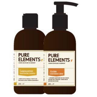 Pure Elements Sandalwood Shampoo and Jojoba Conditioner 250ml  £32.00 image