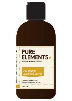 Pure Elements Marigold Harmonising Shampoo + Pump 1000ml  £59.00 image