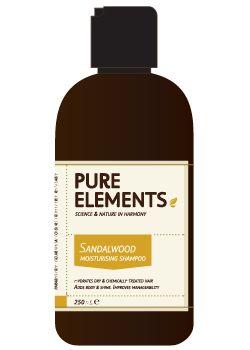 Pure Elements Sandalwood Moisturising Shampoo + Pump 1000ml  £59.00 image