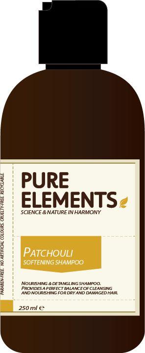 Pure Elements Patchouli Softening Shampoo + Pump 1000ml  £59.00 image