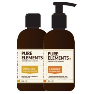 Pure Elements Orangemint Shampoo and Grapefruit Conditioner C 1000ml  £117.95 image